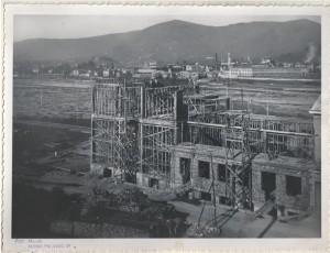 1950 - Costruzione della centrale elettrica di Villa di Serio - BG