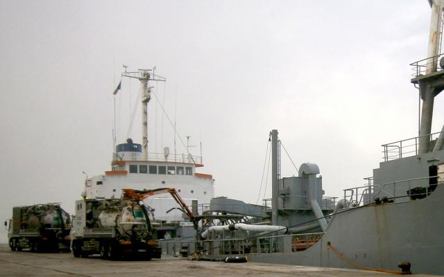 Svuotamento di navi